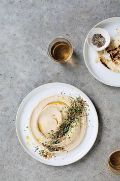 Healthy Food: The combo of white miso and tahini make this hummus sing. Healthy Snacks, Healthy Recipes, Healthy Hummus, White Miso, Good Food, Yummy Food, Food Presentation, Appetizer Recipes, Appetizers