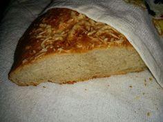 Bread with cheese Сырный хлеб - косичка