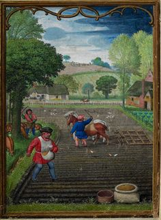 September by Simon Bening - The Hennessy Hours 1530
