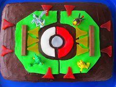 Pokemon Stadium Cake | kids birthday cakes