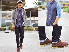 Top And Bottom Shop Button Down, Pedro Chukka Boots, Superdry Hoodie, Sm Cap