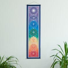 "Wandbehang ""Chakra Rainbow"", groß"