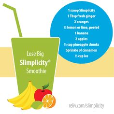 Watching your weight? Want to feel fuller longer? Try this Slimplicity smoothie from Reliv! https://reliv.com/p/slimplicity-vanilla