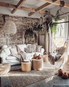 Whose dream is this living room! : Whose dream is this living room! Boho Living Room, Home And Living, Interior Inspiration, Room Inspiration, Lampe Decoration, Boho Bedroom Decor, Room Lamp, Home And Deco, Rustic Furniture
