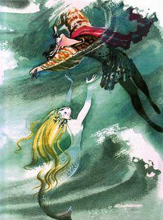 The Little Mermaid by Nika Goltz