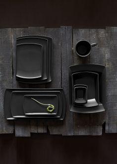 SEDONA by Anfora - Black #steelite #tabletop