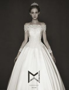 My Precious Princess, designed by Mong U Ae Couture Dresses, Bridal Dresses, Wedding Gowns, Classic Wedding Dress, Perfect Wedding Dress, Expensive Dresses, Dream Dress, Bridal Collection, Bridal Style