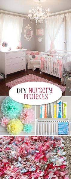 DIY Nursery Projects • Tutorials and inspiration for that perfect baby's room, DIY!