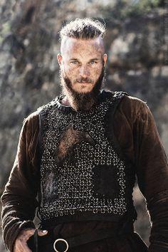 Bush Smarts: Vikings Season 2 Promo   Ragnar. I have no excuse for pinning this here.