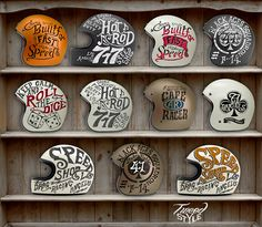 Helmet Private Collection on Behance