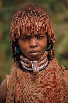 Africa | Portrait of a Hamer woman. Ethiopia | © RURO photography