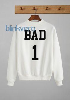 Bad one awesome girls and mens sweatshirt unisex adult size //Price: $23 & FREE Shipping //     #custom shirts