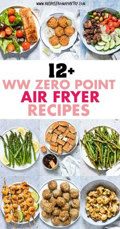 With The Air Fryer, You Can Enjoy Delicious Healthy, Low Calorie Meals, Sides And Snacks These Weight Watchers Friendly Recipes Are Simple And Easy, But Have Zero Smart Points Get Inspired To Eat Healthy With These Tasty And Satisfying Air Fryer Recipes. Air Fryer Recipes Wings, Air Fryer Recipes Appetizers, Air Fryer Recipes Snacks, Air Fryer Recipes Vegetarian, Air Fryer Recipes Low Carb, Air Fryer Recipes Breakfast, Air Fryer Dinner Recipes, Recipes Dinner, Dessert Recipes