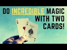 Learn the magic secret to this amazing card trick with two aces. This magic trick will astound your friends. Magic Tricks Videos, Magic Tricks Tutorial, Street Magic Tricks, Learn Magic Tricks, Cool Magic Tricks, Easy Magic, Cool Card Tricks, Coin Tricks, Penn And Teller
