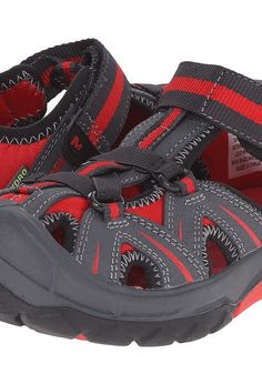 Merrell Kids Hydro (Toddler/Little Kid) (Grey/Red) Boys Shoes - Merrell Kids, Hydro (Toddler/Little Kid), MC55688-020, Footwear Closed Slip on Casual, Slip on Casual, Closed Footwear, Footwear, Shoes, Gift, - Fashion Ideas To Inspire