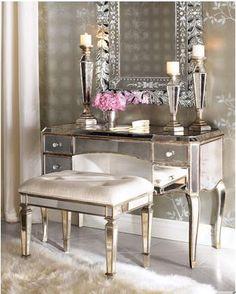 Jpg 337 420 Pixels Mirrored Vanity Table Gl