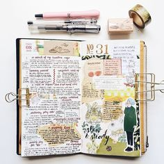 Week 31 in my MTN. Changing things up by using my neglected Zig Cocoiro pen for…