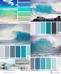 Green\Blue Palette