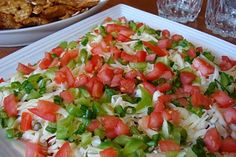 """Surprise Spread  """"This is an appetizer which my friend, Debbie, has brought to functions we've had as friends. I enjoy making it because it is so quick, easy and who does not like to dip crackers or chips while waiting for dinner!"""" www.mennonitegirlscancook.ca"""
