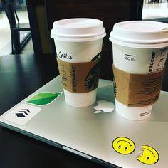 #BurningTheMidnightOil Two #coffee Grande to boost #work  . . . Location @starbucks_pan @altaplazamall in #Panama . . . #entrepreneur #motivation #love #inspiration #marketing #goals #life #design #work #happy #hustle #photooftheday #people #startup #socialmedia #travel #tourism