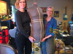 Making a duct tape dressmaker's dummy - the right way