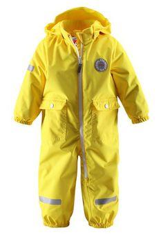 #ReimaSpring2014 #Reima70 Fangan yellow overall. Buy it online here: FI: http://www.reimashop.fi/Kategoriat/Reima/Ulkovaatteet/Haalarit/Haalarit/Haalari-Fangan/p/510126-2350