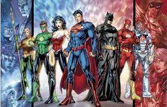 justice league - jim lee