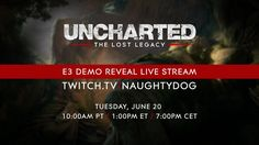 Uncharted: The Lost Legacy show your E3 demo on June 20th PS4 Uncharted: The Lost Legacy