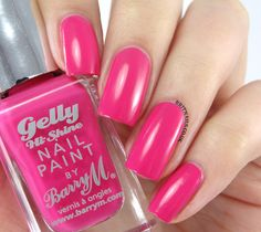 Barry M Gelly Pink Punch.