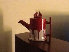 Hand made tea pot