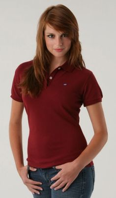 Intense Red - Women's polo shirt