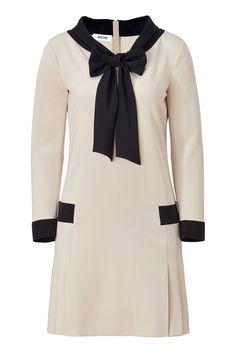 MOSCHINO Beige/Black Sailor Dress