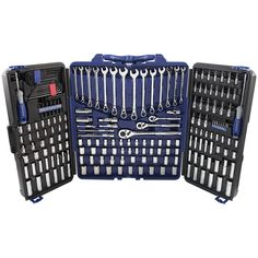 Dad will love this 200-piece mechanic's tool set.