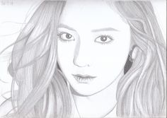 Krystal from f(x) #drawing #sketch #art #fanart #Krystal #fx