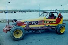 199 Mike Close Racing Round The 1980s.