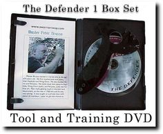 The starter kit has all the things you need  for your self defense. It comes with the defender 1 self defense weapon and an over one hour training DVD.  The DVD training is set up such that you will learn all the techniques for the Defender 1 plus you will see how the other self defense weapons are used, as well.    Cost = $29.95 plus priority shipping .  Visit the website to get your order NOW!