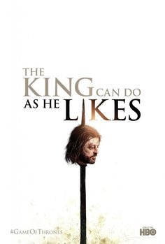 "Game OF Thrones ""The Mad King did as he likes"""