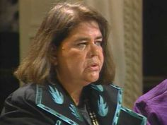 """Wilma Mankiller, first female chief of the Cherokee Nation, on the rebuilding of her tribe. Part of The Eloquent Woman's """"Famous Speech Friday"""" series."""