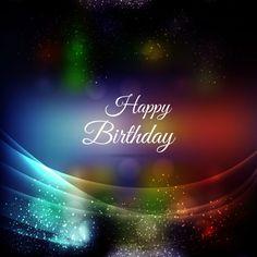 Joyeux anniversaire carte célébration Vecteur gratuit