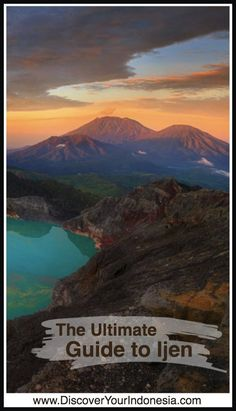 Ijen is an active volcano and the largest sulphur mine in Indonesia. The volcano is 2,600 meters above sea level with a turquoise crater lake. For decades miners have entered Ijen crater to mine th… #kawahijen #indonesia #guide