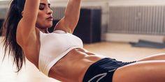 High Intensity Core Workout Illustration