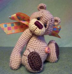 Crochet Bear....I might have to refresh my crocheting skills!