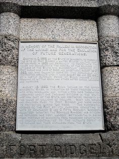 """Inscription about the Sioux Uprising/Dakota Conflict on the monument in Fort Ridgely State Park near New Ulm, Minnesota.  """"In violation of their treaties""""? - EPIC FAIL!"""