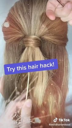 Pretty Braided Hairstyles, Cool Hairstyles, Top Knot Hairstyle, Videos Of Hairstyles, Hairstyles For Braids, Hairstyles For Girls, Casual Hairstyles For Long Hair, Hairdos, Updos