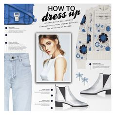 """""""how to dress up"""" by beautifulplace ❤ liked on Polyvore featuring Acne Studios, Sea, New York, Yves Saint Laurent, Tory Burch and Proenza Schouler"""