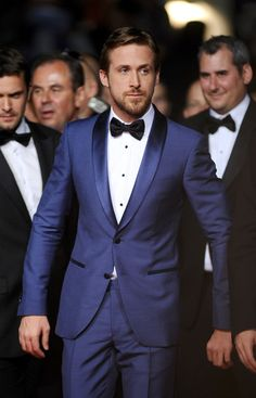 Well Dressed > Ryan Gosling loves a bow tie!