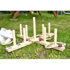 Le lancer d'anneaux jeu en bois