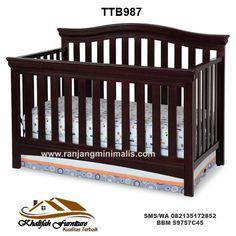 Tempat Tidur Bayi TTB987