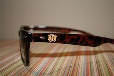 So sleek! Monogram Script Sunglasses from Pineapple Grove Gifts