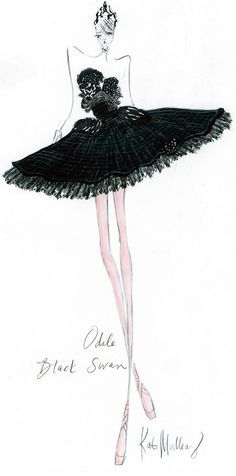 Black Swan Odile by Kat Mulvany